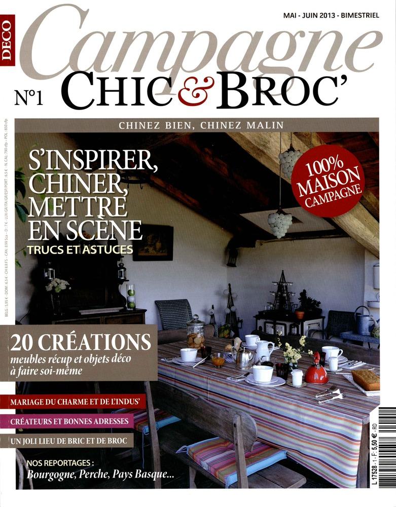 Le Ons De Choses Dans Le Magazine Campagne Chic Et Broc