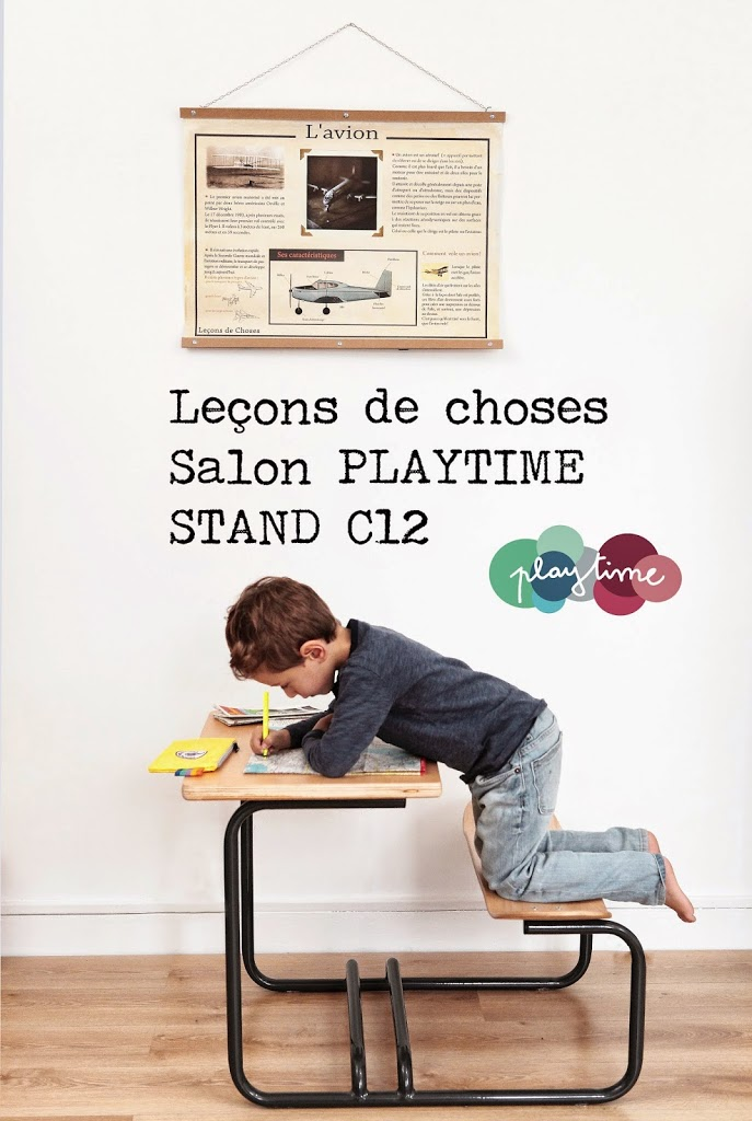 Le ons de choses sur le salon playtime lecons de choses for Playtime salon