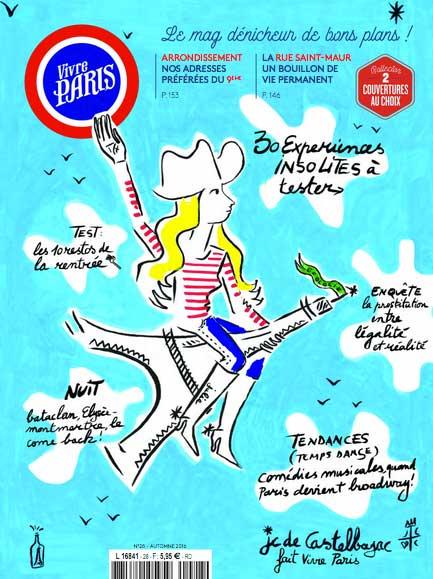 Leçons de choses dans le magazine VIVRE PARIS