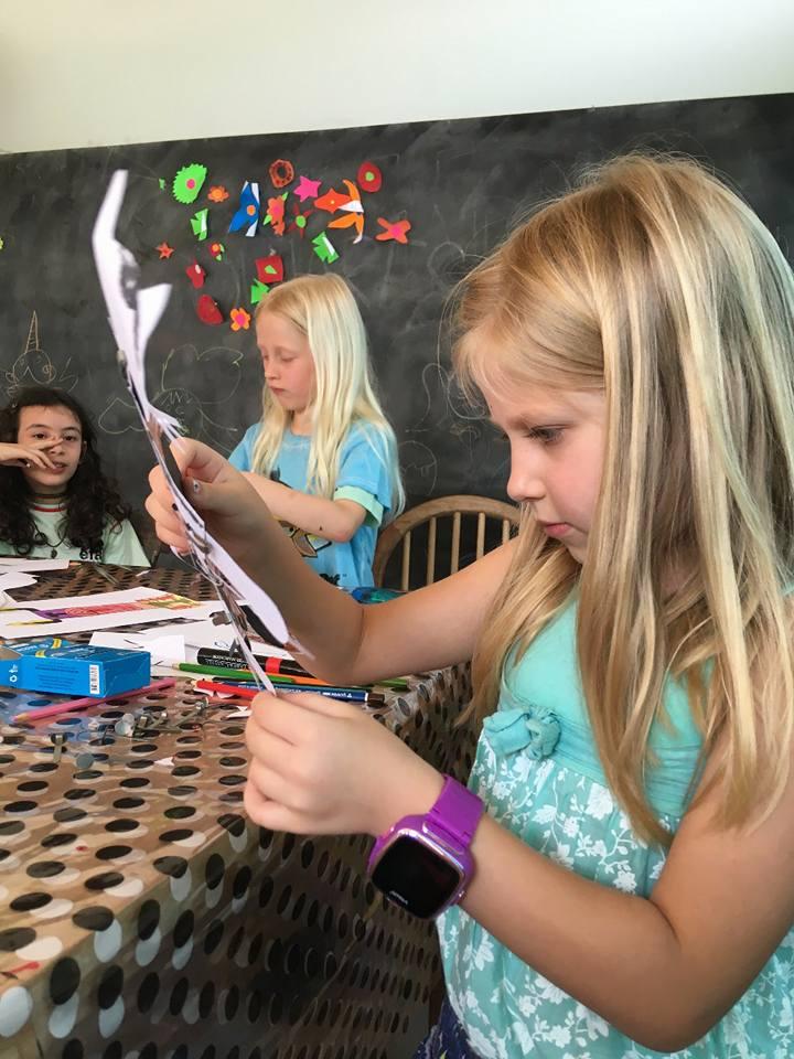 atelier pour enfant de dessin