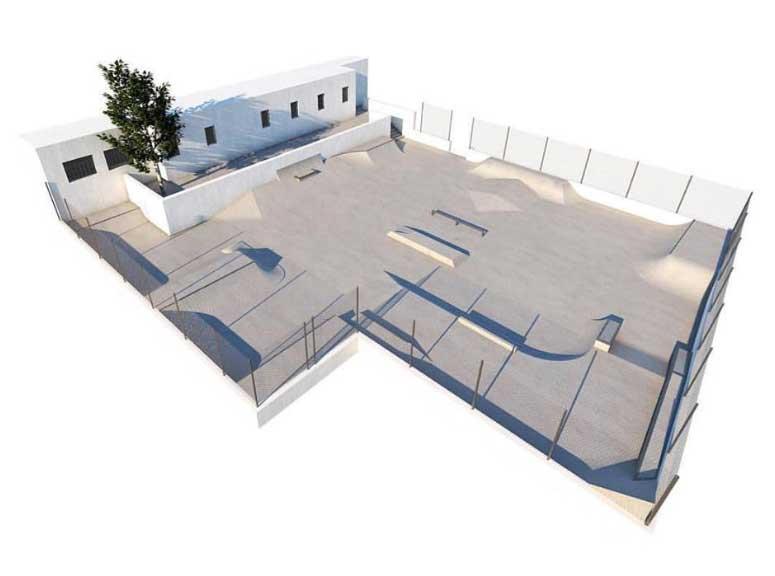 création d un skate park en palestine